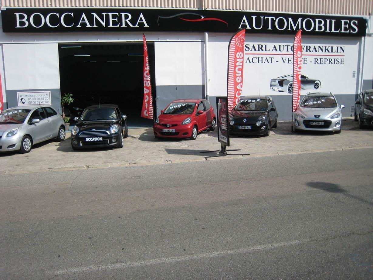 Boccanera Auto Franklin - Devanture du magasin